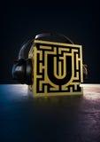 Festival di musica incalcolabile Logo Concept Fotografia Stock