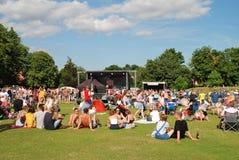 Festival di musica libero di Tentertainment, 2017 Fotografie Stock