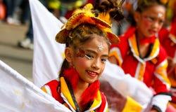Festival di Panagbenga, Baguio City Fotografia Stock Libera da Diritti