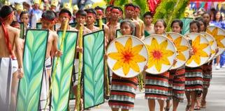 Festival di Panagbenga, Baguio City Immagine Stock Libera da Diritti