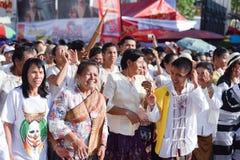 Festival 2018 di parata di Phi Ta Khon immagini stock