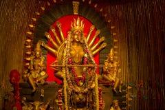 Festival di puja di Durga a Calcutta in India Fotografia Stock Libera da Diritti