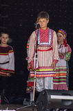 Festival di Pushkin nel villaggio di Polotnyany Zavod, regione di Kaluga, Russia 6 giugno 2016 Immagini Stock