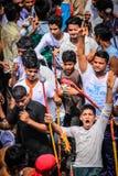 Festival di Rathyatra, Ahmedabad, India immagine stock libera da diritti