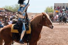 Festival di rinascita dell'Arizona che Jousting Immagini Stock Libere da Diritti