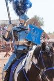 Festival di rinascita dell'Arizona che Jousting Fotografia Stock