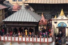 Festival di Shivaratri nel Nepal Fotografia Stock