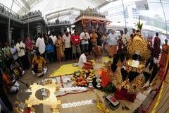 Festival di Singapore Thaipusam Fotografie Stock