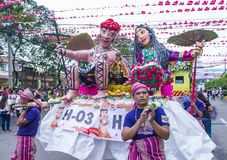 Festival 2018 di Sinulog Fotografia Stock