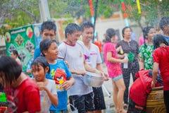 Festival di Songkran Fotografie Stock
