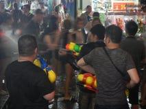 Festival di Songkran, Bangkok, Tailandia immagini stock