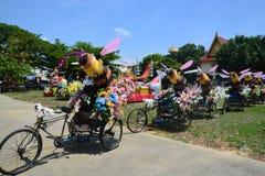 Festival di Songkran nello stile di Tailandese-lunedì Immagini Stock Libere da Diritti
