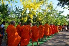 Festival di Songkran nello stile di Tailandese-lunedì Immagine Stock