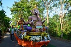 Festival di Songkran nello stile di Tailandese-lunedì Immagini Stock