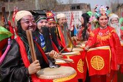 Festival di sorgente cinese Fotografia Stock