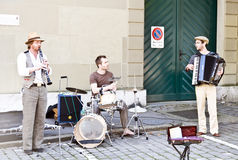 Festival di Streetmusic dei Buskers; Berna fotografie stock