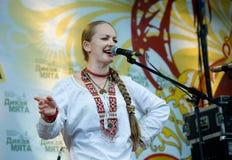 Festival di una menta selvaggia di musica folk Immagine Stock Libera da Diritti