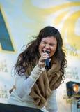Festival di una menta selvaggia di musica folk Fotografia Stock Libera da Diritti