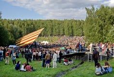 Festival di una menta selvaggia di musica folk Immagini Stock Libere da Diritti