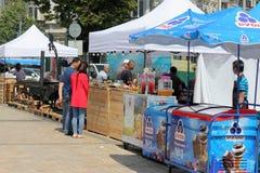 Festival di vino e dell'alimento fotografia stock libera da diritti