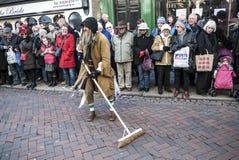 Festival dickensiano anual de la Navidad, Rochester Reino Unido Foto de archivo