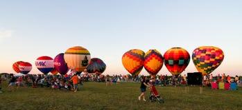 Festival do balão de ar quente Imagens de Stock