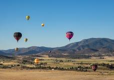 Festival do balão de ar quente Fotografia de Stock