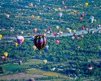Festival do balão de ar quente de Albuquerque Imagens de Stock