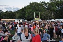 Festival 2015 do balão de ar quente de empresa de fogo de Plainville (CT) Foto de Stock Royalty Free