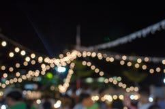 Festival do borrão fotos de stock
