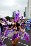 Festival do Cararibe de Carnaval em Rotterdam Imagens de Stock