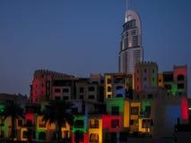 Festival do centro de Dubai fotografia de stock royalty free
