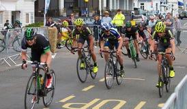 Festival 2013 do ciclismo de Eastbourne fotos de stock