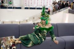 Festival do cultura Pop japonês em Moscovo 2010 Imagens de Stock Royalty Free