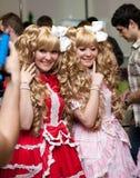Festival do cultura Pop japonês em Moscovo 2010 Fotografia de Stock