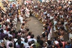 Festival do elefante de Thrissur foto de stock