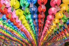 Festival do fantoche o 9 de abril de 2017 em Seoul, Coreia fotografia de stock royalty free