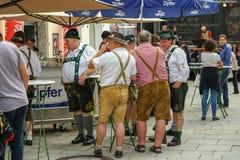 Festival do folclore e da tradição em Salzburg Imagens de Stock Royalty Free