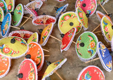 Festival do guarda-chuva em Chiang Mai Imagens de Stock Royalty Free