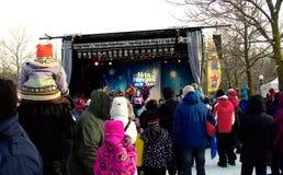 Festival do inverno fotografia de stock royalty free