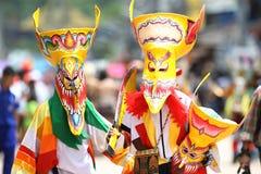 Festival do korn da phi Ta Fotos de Stock