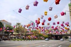 Festival do Meados de-outono do bairro chinês Foto de Stock