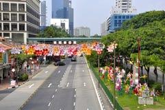 Festival do Meados de-outono do bairro chinês Fotos de Stock