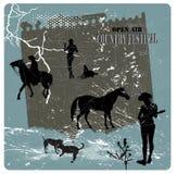 Festival do país ilustração royalty free