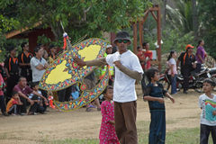 Festival do papagaio Foto de Stock