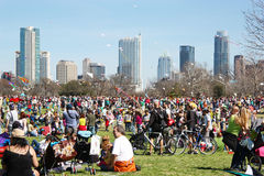 Festival do papagaio de Austin imagem de stock royalty free