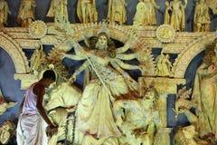 Festival do puja de Durga Foto de Stock Royalty Free