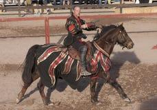 Festival do renascimento do Arizona que Jousting Imagens de Stock Royalty Free