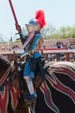 Festival do renascimento do Arizona que Jousting Fotos de Stock