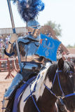 Festival do renascimento do Arizona que Jousting Fotografia de Stock